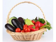 Cesta de frutas y verduras de temporada 10 Kg